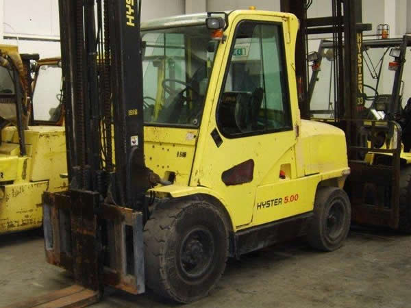 FKL101<br>HYSTER H5.00XM (2)   <br>Year: 2005<br>Hours: 6200