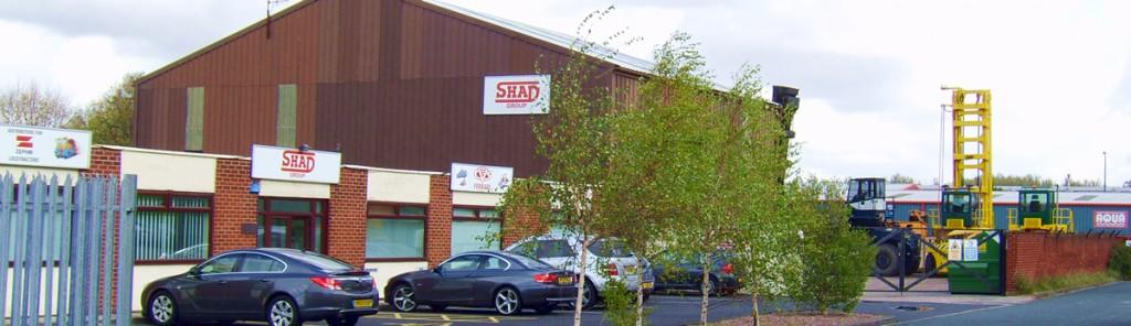 SHAD Group headquarters, Skelmersdale, UK