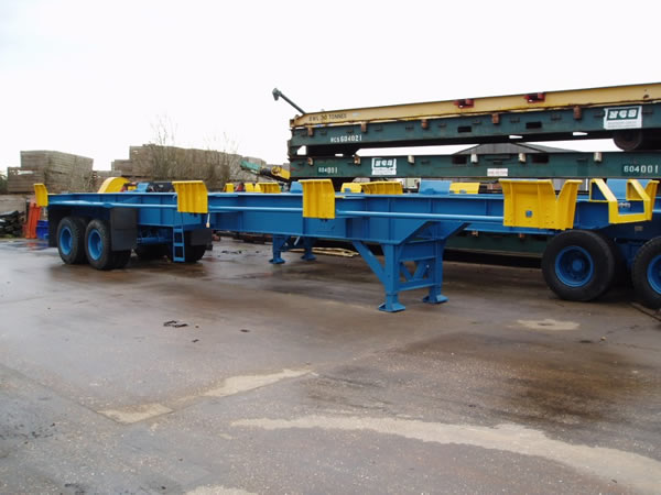 TME106<br>Port Trailers  – 4 Available