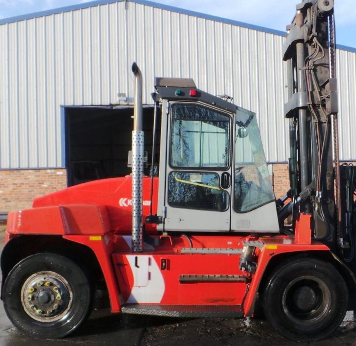 HDF153<br>Kalmar DCE100-6  <br>Year: 2007<br>Hours: 13000