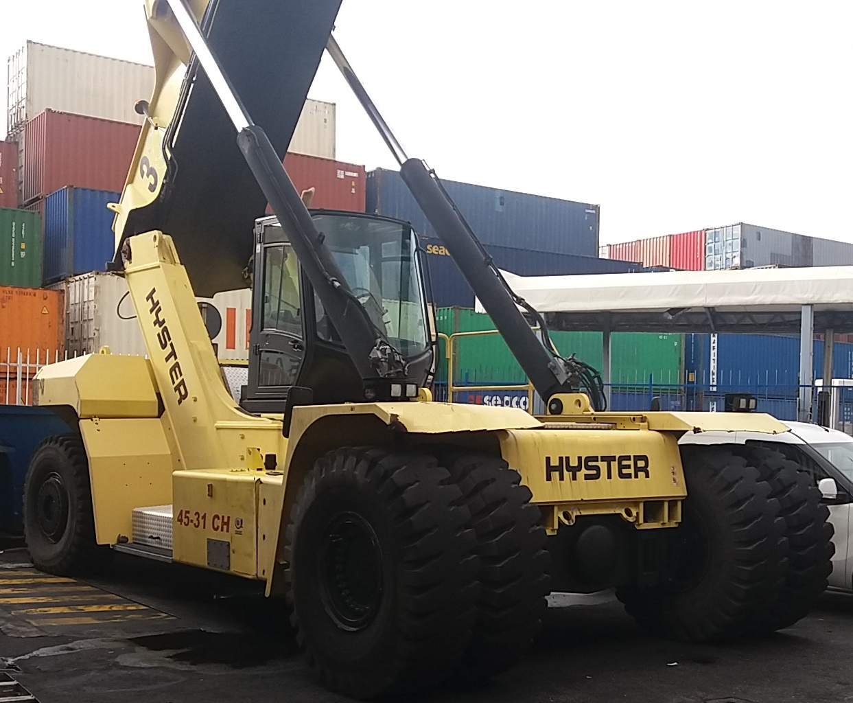 RS261<br>Hyster RS45-31CH<br>Year: 2013<br>Hours: 11000