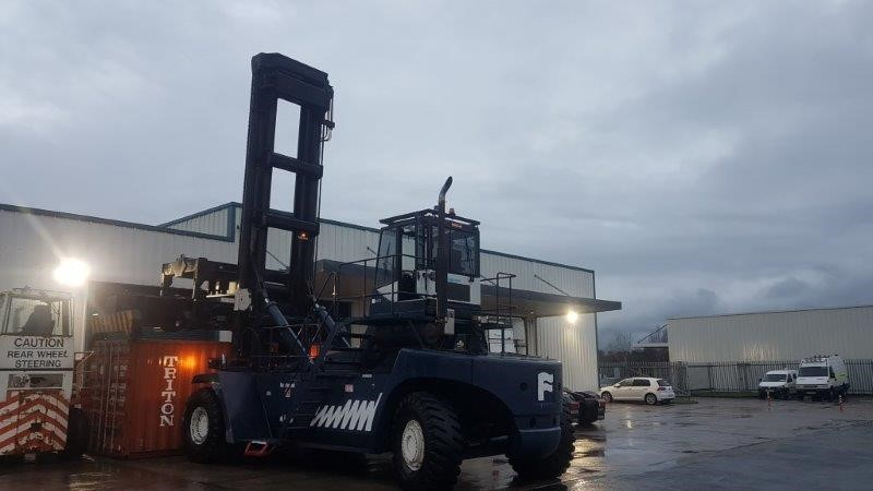 FLC115TEREX FANTUZZI FDC500 Year: 2005Hours: 17000 - SHAD Group