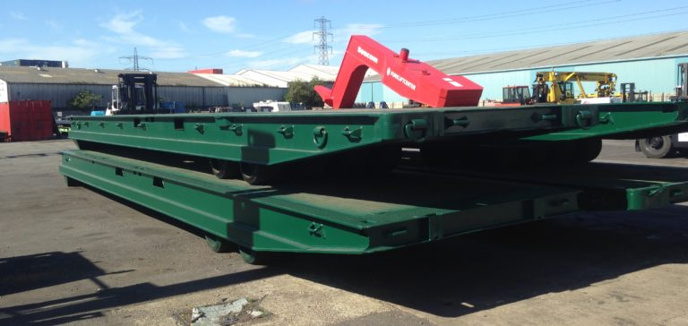 TME118<br>Mafi 40T Rollertrailer <br>Capacity: 40T <br>4 Available