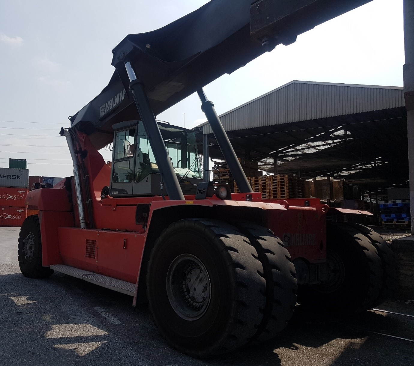 RS268<br>Kalmar DRF45065S5L<br>Year: 2013<br>Hours: Circa 10000