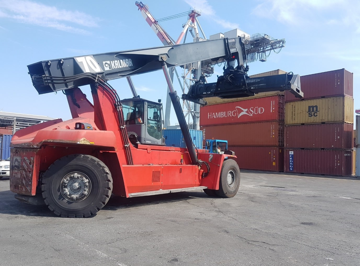 RS269<br>Kalmar DRG45065S5<br>Year: 2014<br>Hours: Circa 14000