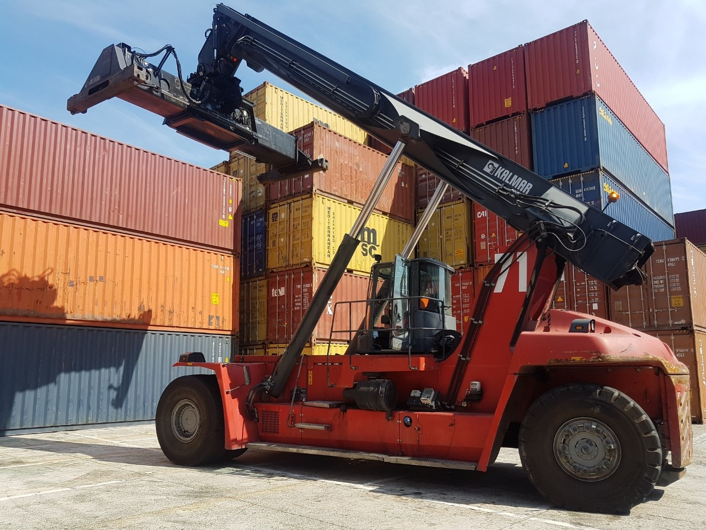 RS270<br>Kalmar DRG45065S5<br>Year: 2014<br>Hours: Circa 18000