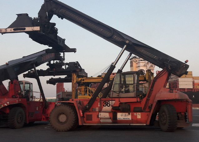 RS275<br>Kalmar DRF45060S5<br>Year: 2008<br>Hours: Circa 17500