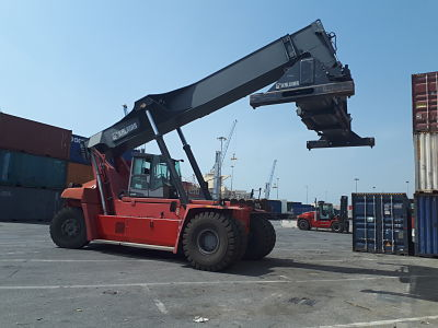 RS288<br>Kalmar DRF42060S5L<br>Year: 2014<br>Hours: Circa 4300