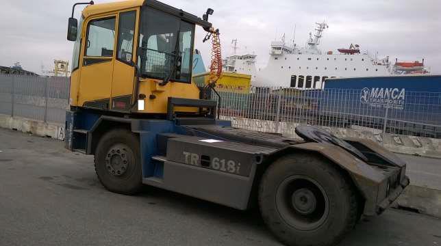 TRA293<br>Kalmar TR618i 4×4<br>Year: 2009<br>Hours: Circa 10,500