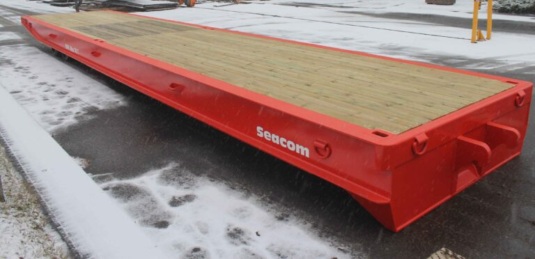 TME119<br>Seacom 70T Rollertrailer <br>Capacity: 70T <br>