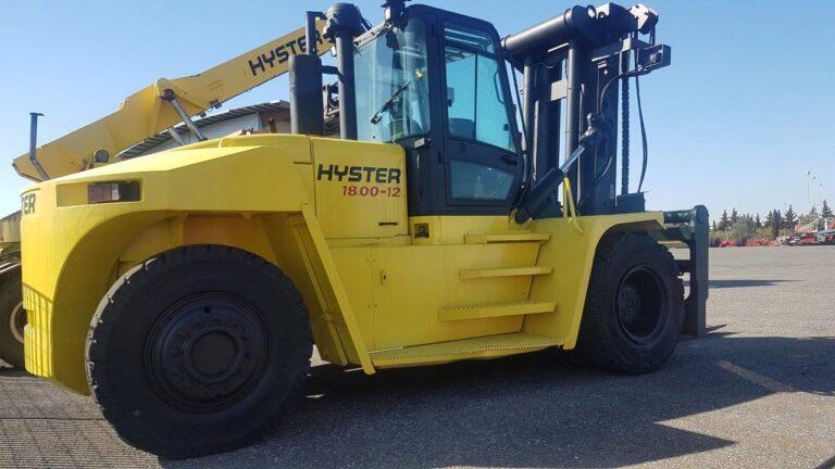 HDF182<br>Hyster H18.00-1200-CM<br>Year: 2011<br>Hours: Circa 13800